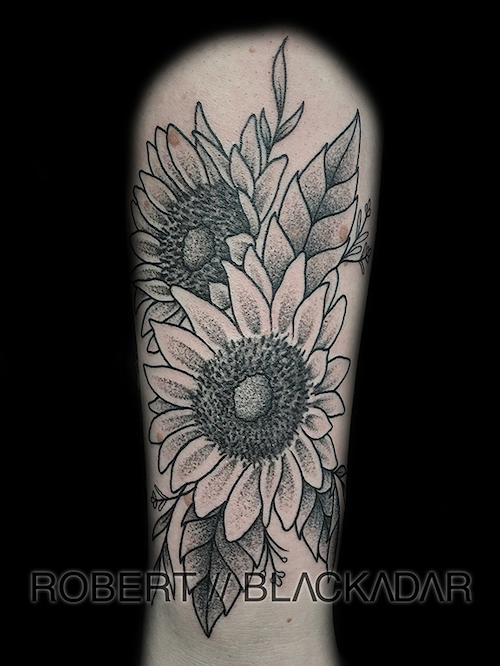 Sunflowers Tattoo