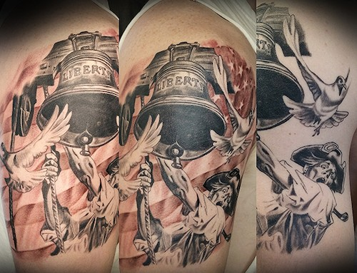 Liberty Bell Tattoo